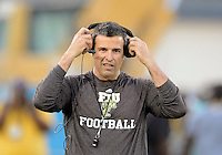 Florida International University football Head Coach Mario Cristobal during the Spring Game on March 30, 2012 at Miami, Florida. .