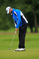Chris Selfridge (NIR) on the 10th green during Round 2 of the Bridgestone Challenge 2017 at the Luton Hoo Hotel Golf &amp; Spa, Luton, Bedfordshire, England. 08/09/2017<br /> Picture: Golffile | Thos Caffrey<br /> <br /> <br /> All photo usage must carry mandatory copyright credit     (&copy; Golffile | Thos Caffrey)