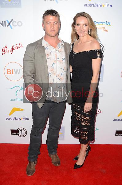 Luke Hemsworth, Samantha Hemsworth <br /> at the 2016 Australians In Film Heath Ledger Scholarship Dinner, Mr. C, Beverly Hills, CA 06-01-16<br /> David Edwards/Dailyceleb.com 818-249-4998