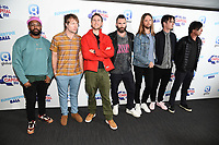 LONDON, UK. June 08, 2019: Maroon 5 poses on the media line before performing at the Summertime Ball 2019 at Wembley Arena, London<br /> Picture: Steve Vas/Featureflash