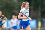 Mannheim, Germany, September 07: During the field hockey Bundesliga match between Mannheimer HC and Harvestehuder THC on September 7, 2019 at Am Neckarkanal in Mannheim, Germany. Final score 2-0. (Photo by Dirk Markgraf / www.265-images.com) *** Agustina Habif #5 of Mannheimer HC
