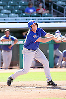 Devon Dageford, Louisana Tech Bulldogs, playing against Hawaii Rainbows on day one of the Western Athletic Conference tournament at Hohokam Park, Mesa, AZ - 05/26/2010. Hawaii defeated Louisiana Tech, 8-7, in 10 innings..Photo by:  Bill Mitchell/Four Seam Images.