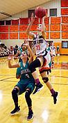 Greenland at Gravette Girls basketball