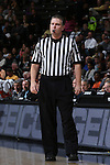 28 February 2016: Referee Joe Lindsay. The Wake Forest University Demon Deacons hosted the Virginia Tech Hokies at Lawrence Joel Veterans Memorial Coliseum in Winston-Salem, North Carolina in a 2015-16 NCAA Division I Men's Basketball game. Virginia Tech won the game 81-74.