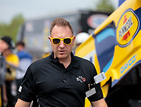 Apr 14, 2019; Baytown, TX, USA; NHRA Ted Yerzyk during the Springnationals at Houston Raceway Park. Mandatory Credit: Mark J. Rebilas-USA TODAY Sports