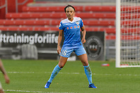 Bridgeview, IL - Sunday September 03, 2017: Samantha Johnson during a regular season National Women's Soccer League (NWSL) match between the Chicago Red Stars and the North Carolina Courage at Toyota Park. The Red Stars won 2-1.