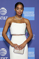 03 January 2019 - Palm Springs, California - Laura Harrier. 30th Annual Palm Springs International Film Festival Film Awards Gala held at Palm Springs Convention Center. Photo Credit: Faye Sadou/AdMedia
