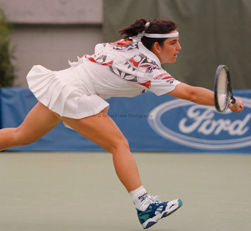 Photo. Steve Holland.Australian Open at Melbourne. 1994..Arantxa Sanchez
