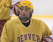 DU ? - Reigning national champions (2004 and 2005) University of Denver Pioneers practice on Friday morning, December 30, 2005 before hosting the Denver Cup at Magness Arena in Denver, CO.