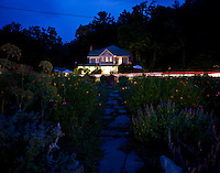 The Mast Farm Inn in Valle Crucis, NC.