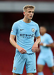 Manchester City's Matthew Smith in action during the premier league 2 match at the Emirates Stadium, London. Picture date 21st August 2017. Picture credit should read: David Klein/Sportimage