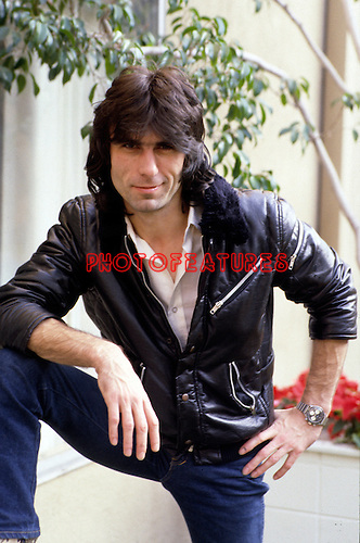 Cozy Powell 1981 Sunset Maquis Hollywood<br /> &copy; Chris Walter