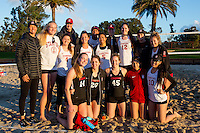 Stanford Sand Volleyball vs Intersquad Match, February 22, 2017