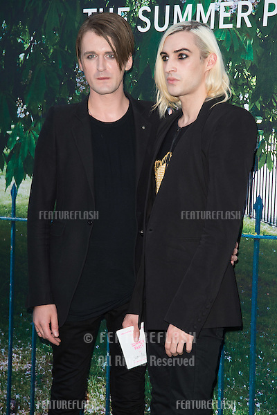 Designer Gareth Pugh at The Serpentine Gallery Summer Party 2015 at The Serpentine Gallery, London.<br /> July 2, 2015  London, UK<br /> Picture: Steve Vas / Featureflash
