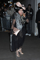 06 April 2019 - New York, New York - Lil Kim arriving for the Wedding Reception of Marc Jacobs and Char Defrancesco, held at The Pool.<br /> CAP/ADM/LJ<br /> ©LJ/ADM/Capital Pictures