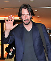 Keanu Reeves departs from Narita Airport in Japan