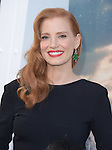 Jessica Chastain attends The Los Angeles premiere of INTERSTELLAR, from Paramount Pictures and Warner Brothers Pictures held at The TCL Chinese Theatre in Hollywood, California on October 26,2014                                                                               © 2014 Hollywood Press Agency