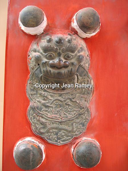 Red door, Forbidden City and Imperial Palace, Beijing