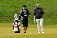 Shane Lowry (IRL) on the 4th fairway during Round 2 of the Alfred Dunhill Links Championship 2019 at Kingbarns Golf CLub, Fife, Scotland. 27/09/2019.<br /> Picture Thos Caffrey / Golffile.ie<br /> <br /> All photo usage must carry mandatory copyright credit (© Golffile | Thos Caffrey)