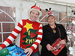 Mal Reilly and Geraldine Fay pictured at Dunleer Christmas fair. Photo:Colin Bell/pressphotos.ie