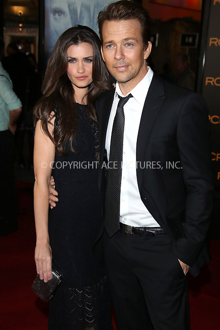 WWW.ACEPIXS.COM....US Sales Only....February 27 2013, LA....Sean Patrick Flanery with his wife Lauren Flanery at the premiere of 'The Phantom' on February 27 2013 in Hollywood, Los Angeles....By Line: Famous/ACE Pictures......ACE Pictures, Inc...tel: 646 769 0430..Email: info@acepixs.com..www.acepixs.com