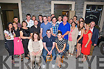 30TH: Seamus Doody who celebrated his 30th birthday with his family and friends in McElligotts Bar, Ardfert. (Seamus is seated centre).