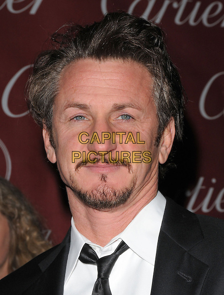 SEAN PENN .The 20th Anniversary Palm Springs Film Festival Awards Gala held at The Palm Springs Film Festival in Palm Springs, California, USA..January 6th, 2009                                                                     headshot portrait goatee facial hair .CAP/DVS.©Debbie VanStory/Capital Pictures.