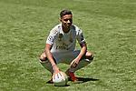 Rodrygo Goes is presented as new player of Real Madrid at Santiago Bernabeu Stadium in Madrid, Spain. June 18, 2019. (ALTERPHOTOS/A. Perez Meca)