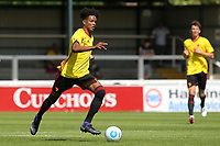 Joy Mukena of Watford in action during Woking vs Watford, Friendly Match Football at The Laithwaite Community Stadium on 8th July 2017
