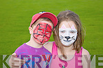 Zara Chambers and Ethan Chambers enjoying the Camp Cash Cow family fun Day on Sunday