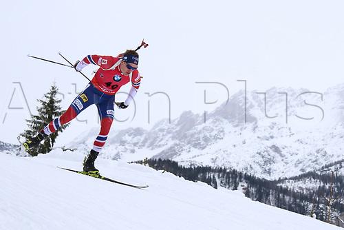 8th December 2017, Biathlon Centre, Hochfilzen, Austria; IBU Biathlon World Cup; Tarjei Boe (NOR)