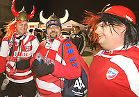 FC Dallas fans at MLS Cup 2010 at BMO Stadium in Toronto, Ontario on November 21 2010. Colorado won 2-1 in overtime.
