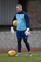 7th March 2020; Somerset Park, Ayr, South Ayrshire, Scotland; Scottish Championship Football, Ayr United versus Dundee FC; Jack Hamilton of Dundee during the warm up before the match