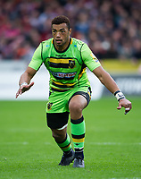Northampton Saints' Luther Burrell <br /> <br /> Photographer Ashley Western/CameraSport<br /> <br /> Aviva Premiership - Gloucester v Northampton Saints - Saturday 7th October 2017 - Kingsholm Stadium - Gloucester<br /> <br /> World Copyright &copy; 2017 CameraSport. All rights reserved. 43 Linden Ave. Countesthorpe. Leicester. England. LE8 5PG - Tel: +44 (0) 116 277 4147 - admin@camerasport.com - www.camerasport.com