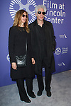 Sara Driver and Jim Jarmusch arrive at the Film at Lincoln Center's 50th Anniversary Gala on Monday April 29, 2019; in Alice Tully Hall at 1941 Broadway in New York, NY.