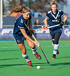 AMSTELVEEN - Anne Boer (Pinoke) tijdens de competitie hoofdklasse hockeywedstrijd dames, Pinoke-SCHC (1-8) . COPYRIGHT KOEN SUYK