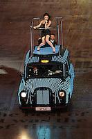 Spice Girls.Victoria Beckham aka Sposh Spice .Londra 12/08/2012 Olympic Stadium.London 2012 Olympic Games Closing Ceremony.Olimpiadi Londra 2012 Cerimonia d chiusura.Foto Insidefoto Augusto Bizzi.