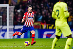 Jorge Koke of Atletico de Madrid looks to bring the ball down during the La Liga 2018-19 match between Atletico Madrid and FC Barcelona at Wanda Metropolitano on November 24 2018 in Madrid, Spain. Photo by Diego Souto / Power Sport Images