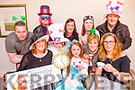 The Mad Hatters tea party in aid of the Chernobyl children in the Castleisland Resource centre on Sunday  l-r: Ian Sugrue, Rachel prenderville, Ivan Blennerhasset, Ciara sugrue, Louise Doran, Susan Sugrue, George Sugrue, Mary, and Roisin Sugrue and Geraldine McCarthy