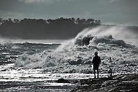 fishing, Woody Head, BundjalungNP, NSW, Australia