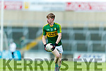 Patrick Warren Kerry in action against  Louth in the All Ireland Minor Football Quarter Finals at O'Moore Park, Portlaoise on Saturday.