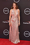 LOS ANGELES, CA - JULY 18: Alison Brie attends the 2018 ESPYS at Microsoft Theater at L.A. Live on July 18, 2018 in Los Angeles, California.