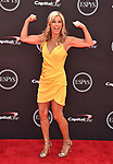 LOS ANGELES, CA - JULY 18: Denise Austin attends the 2018 ESPYS at Microsoft Theater at L.A. Live on July 18, 2018 in Los Angeles, California.