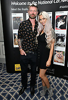 Lee Stafford, Jessica-Jane Stafford<br /> Cats Protection's National Cat Awards, held by the Cats Protection celebrating feline tales of courage, promote benefits of cat adoption. The Savoy Hotel, London, England on August 02, 2018.<br /> CAP/JOR<br /> &copy;JOR/Capital Pictures