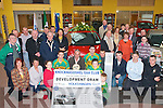 Members of Knocknagoshel GAA club who gathered in Divanes garage Castleisland on Saturday to launch their club draw which has a Volkswagen Golf as top prize   Copyright Kerry's Eye 2008