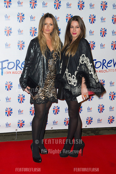Sarah Barrard at the Viva Forever Press Night, London. 11/12/2012 Picture by: Simon Burchell / Featureflash