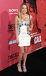 "Evie Thompson at the premiere for ""The Call"" held at Archlight  Theater in Los Angeles, CA. March 5, 2013."
