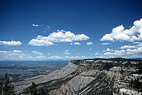 Mesa Verde, panoramic view from Top. August 1987