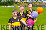 Eoin Brosnan daughters Elizabeth and Annie were delighted to be back traaining in Dr Crokes