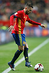 Spain's Jordi Alba during FIFA World Cup 2018 Qualifying Round match. March 24,2017.(ALTERPHOTOS/Acero)